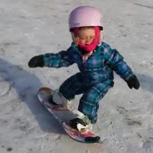 Anna Snowboard 2 år